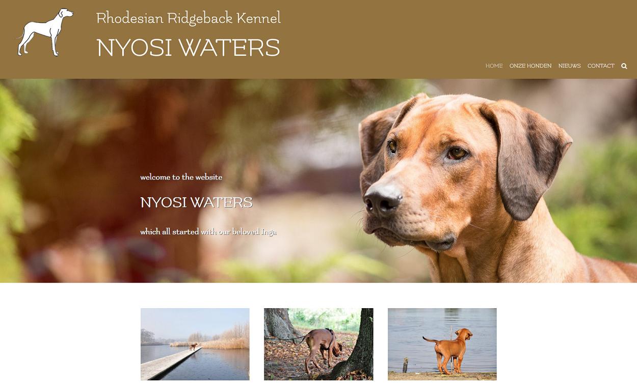 Website Hondenkennel